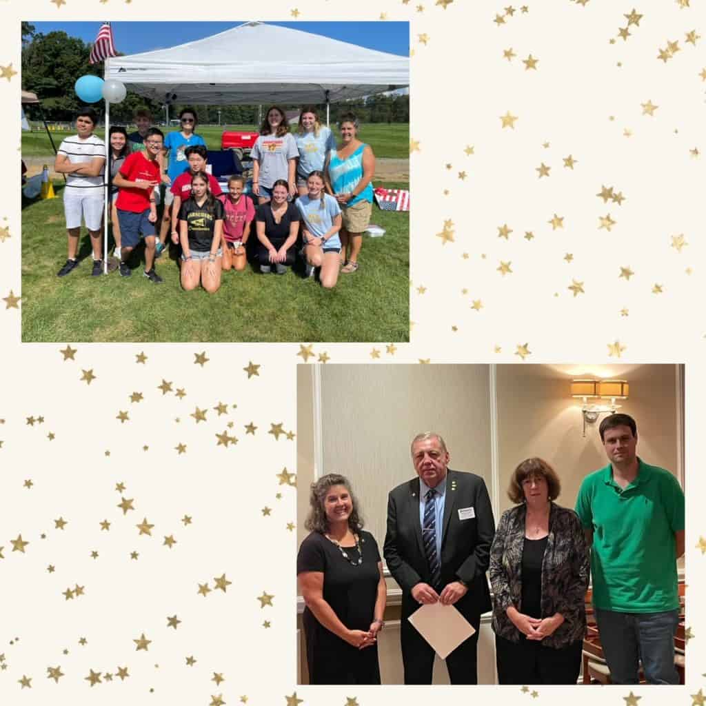 Congratulations to Heidi Caruso who was recently re-elected as President of the Kiwanis Club of Mt. Olive Township. Heidi and the other members sponsor the Key Club of Mount Olive High School and other youth projects.