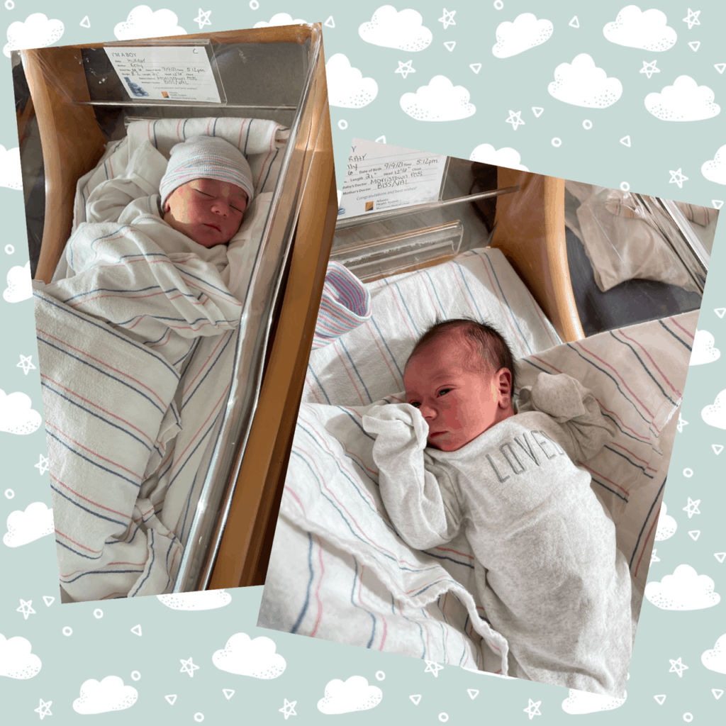 Congratulations to Kelly Murphy (WL Spanish teacher at MHS) and her husband Robert! They, along with big sister Angelina, welcomed their son, Robert Angelo Minano into the world at 5:12pm on September 9th. He was 8 pounds 3 ounces and is  21 inches long. Congratulations!